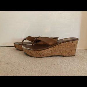 DV by Dolce Vita Leather Wedge Sandals